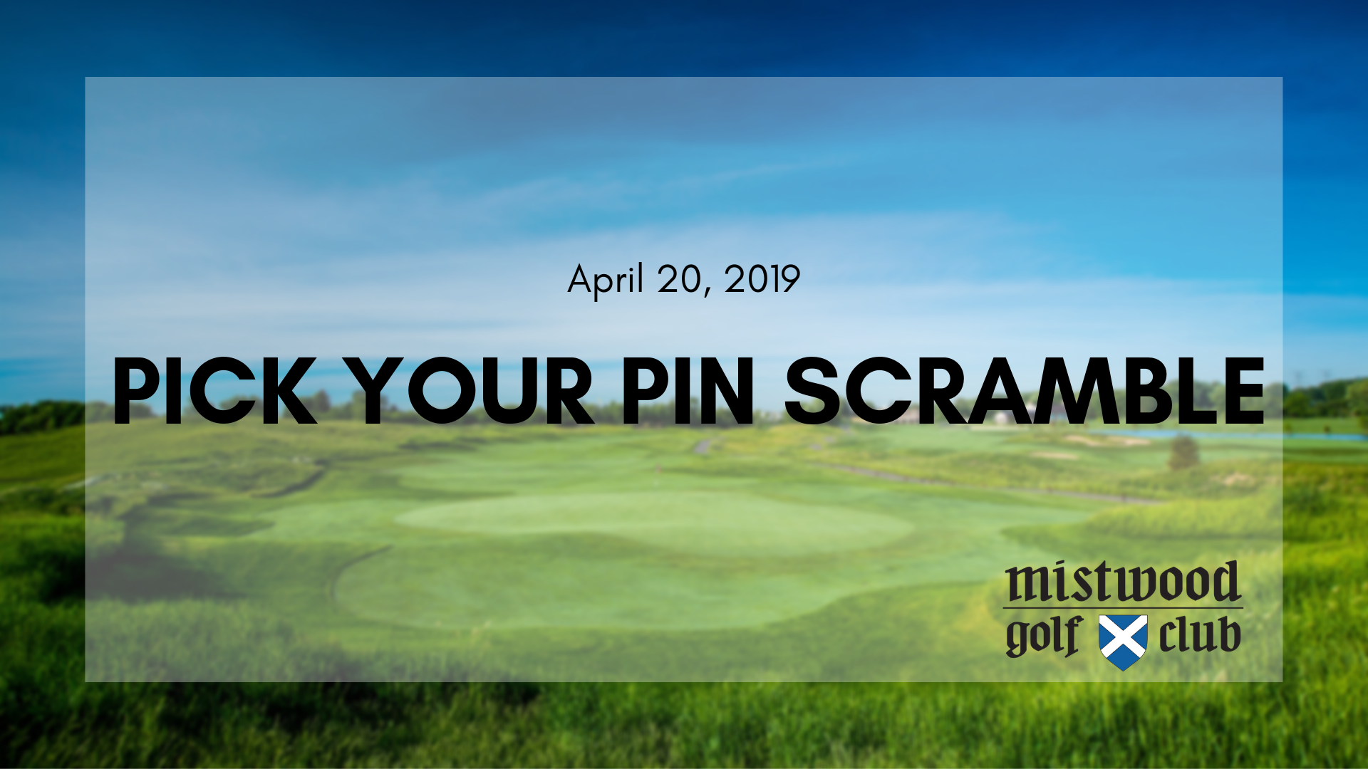 PICK YOUR PIN SCRAMBLE